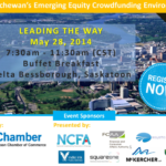 Event Saskatchewan (May 28, 2014):  Leading the Way – Emerging Equity Crowdfunding Environment