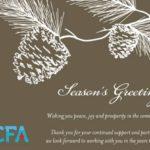 Season's Greetings from NCFA Canada!