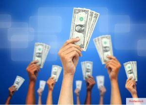 Crowdfunding Shutterstock image