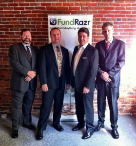 Team FundRazr launches Crowdfunding as a Service at Grow