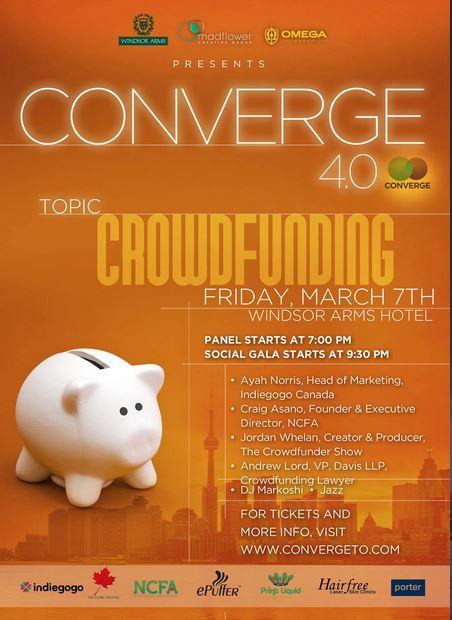 Converge crowdfunding edition promo