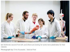 Help bring plastinates to Carleton University