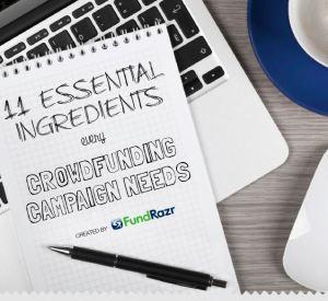 11 essential ingredients fundrazr