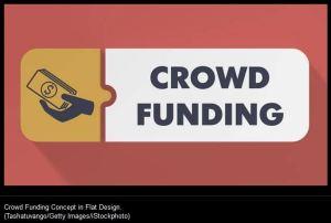 Crowdfunding stockphoto