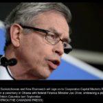 Saskatchewan, New Brunswick to join national securities regulator