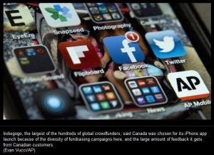 Indiegogo mobile app