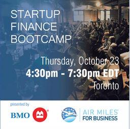 Startup Canada finance bootcamp