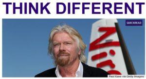Entrepreneurs Think different