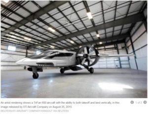 Crowdfunding a TriFan 600 jet
