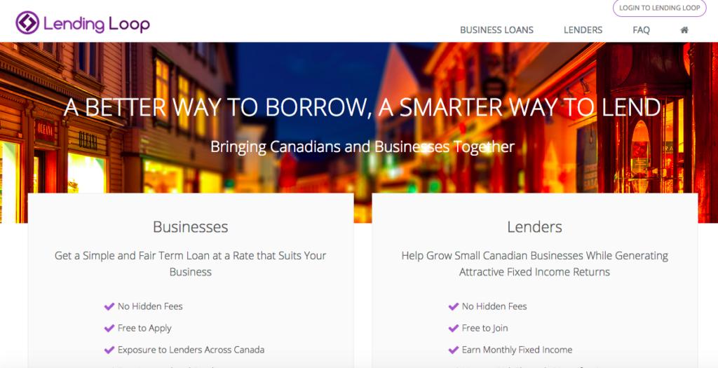 Lending Loop launch