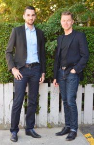 Lending Loop co-founders Cato Pastoll and Brandon Vlaar