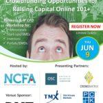 Seminar Toronto (June 9): Rapid Fire Crowdfinancing Opportunities For Raising Capital Online 101+