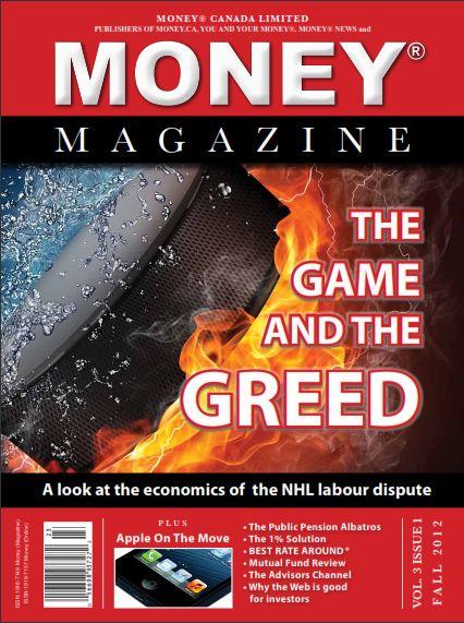 Money Magazine Front Fall 2012 - Nov 14, 2012:  Money Magazine Fall 2012