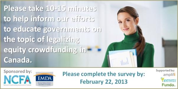 NCFA-EMDA National Crowdfunding Survey in Canada