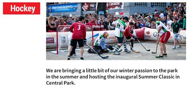 Canada Day International Hockey