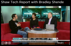 Shaw tech report FundRazr NCFA member in the news