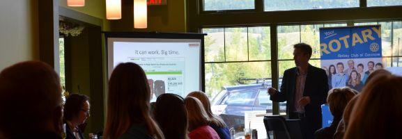 Canmore Alberta presentation Jeremy Bernard - Crowdfunding – Bridging the rural/urban economic divide