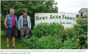 PEI potato farmers crowdfunding