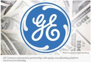 GE Crowdfunding partnership