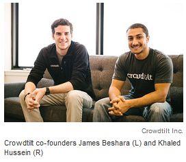 Crowdtilt raises capital - Crowdtilt Raises $23M to Take Crowdfunding Web-Wide
