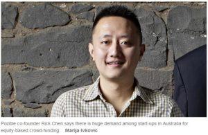 Pozible co-founder Rick Chen