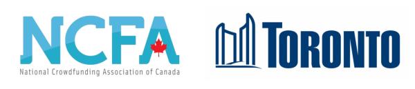 NCFA and City of Toronto logos3 - Toronto NCFA Event (April 16, 2014):  Igniting Entrepreneurship and Capital Flow in Ontario