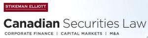 Stikeman Elliot Canadian Securities Law 2