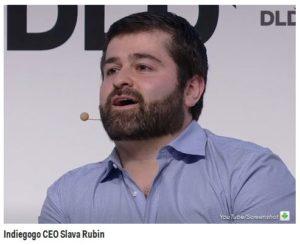 Indiegogo CEO Slava Rubin