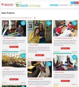 Seeds of Change - McGill University