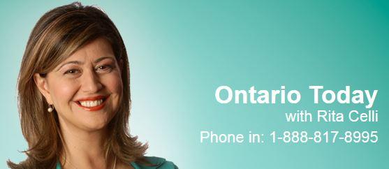 Ontario today - CBC Radio show July 3, 2014