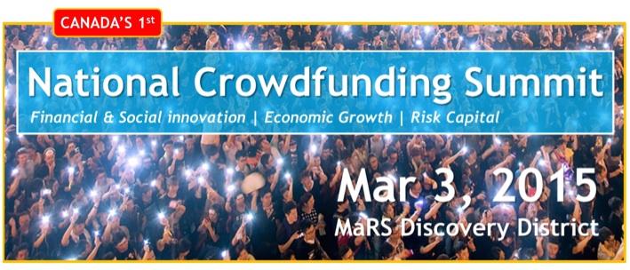 Canada Crowdfunding Summit Banner
