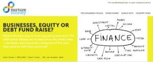 UK aggregator Nurturemoney 300x122 - Crowdfunding Comparison - The New Business Opportunity