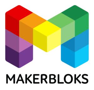 MakerBloks Logo Space
