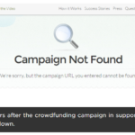 Campaign not found 150x150 - Backers Beware: Bionym Crowdfunding Faker Found on Indiegogo
