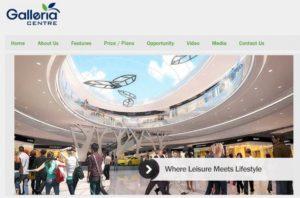 Galleria Centre shopping mall
