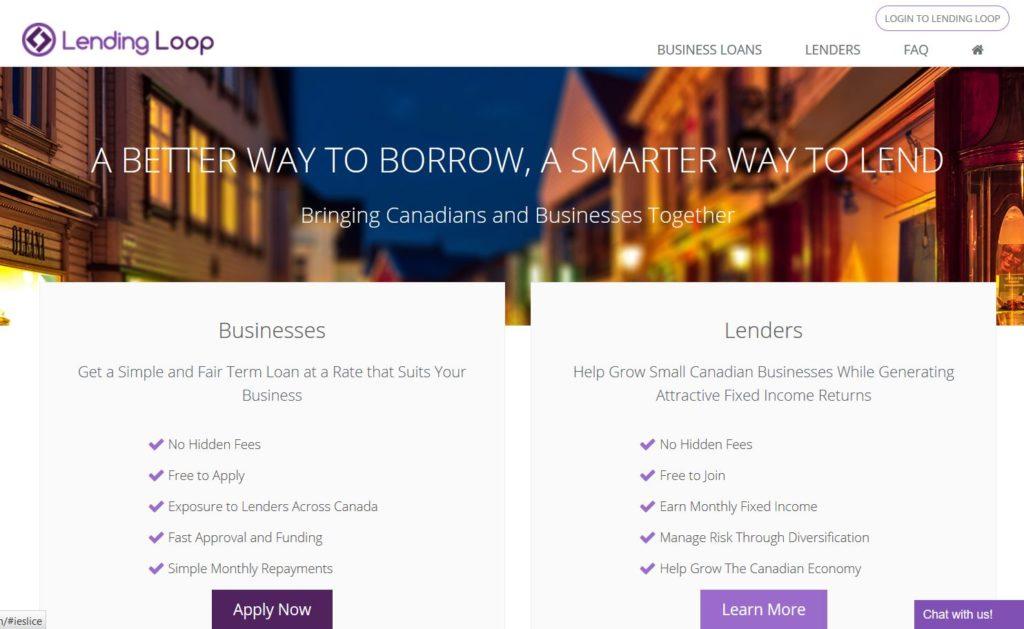 Lending Loop - A smarter way to lend