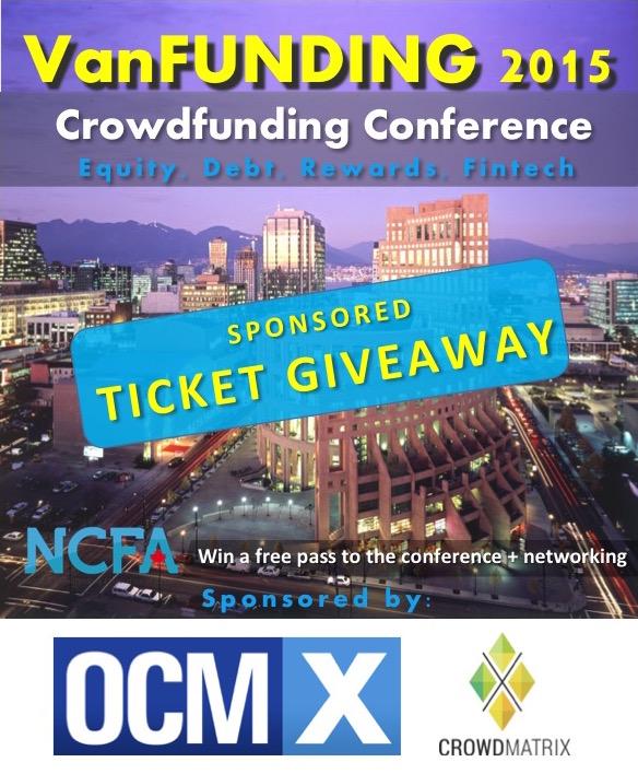 Sponsored Ticket Giveaway - VanFUNDING 2015 ticket giveaway
