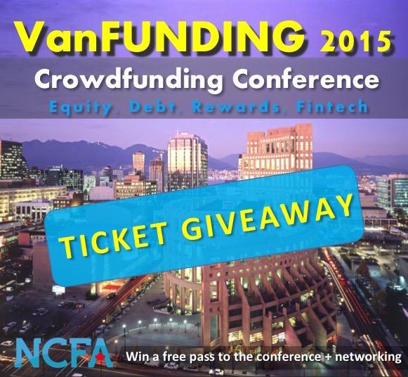 VanFUNDING giveaway - Vancouver Event (Sep 29):  VanFUNDING 2015 Crowdfunding Conference