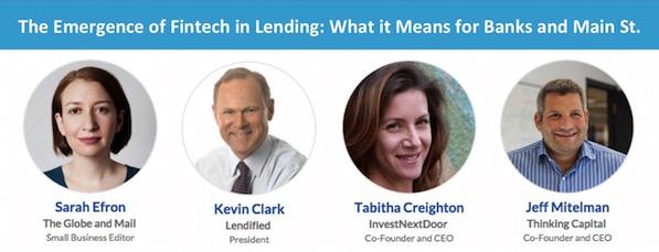 Fintech lending 600 - 2nd Annual 2016 Canadian Crowdfunding Summit (#CCS2016)