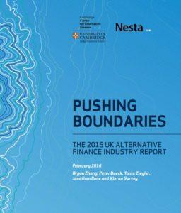 Pushing Boundaries, UK altfi report Feb 2016