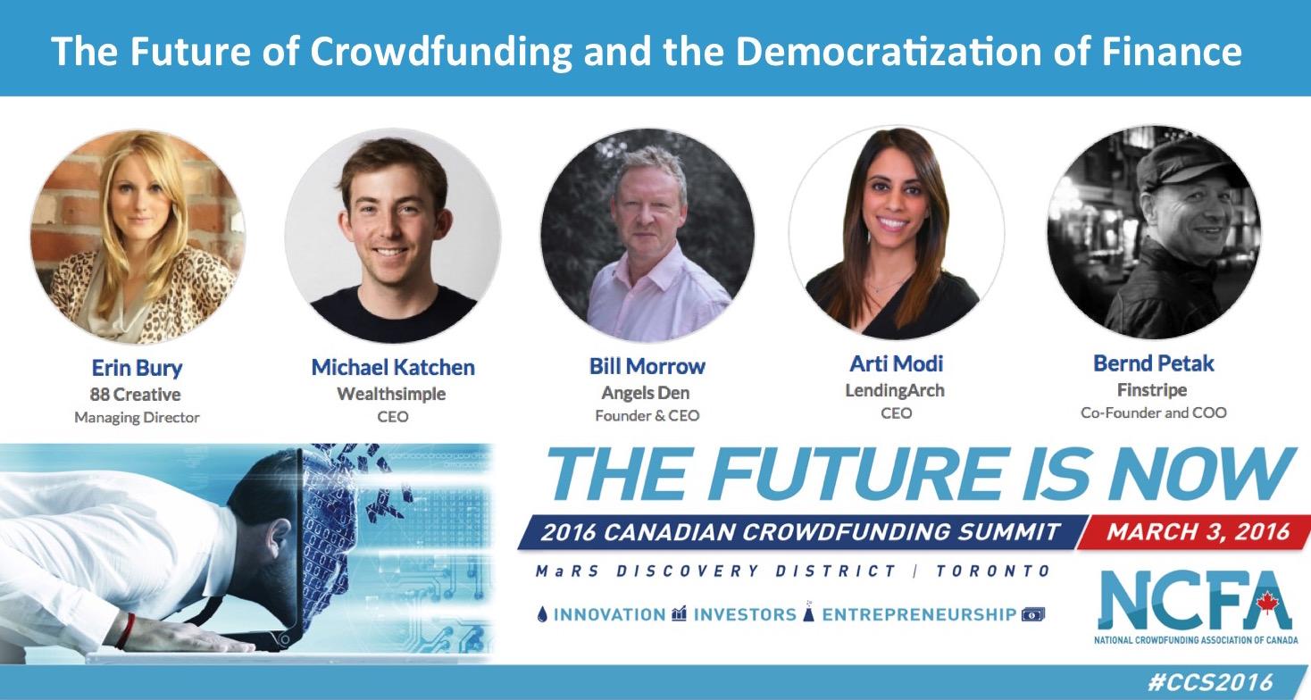 future CF - 2nd Annual 2016 Canadian Crowdfunding Summit (#CCS2016)