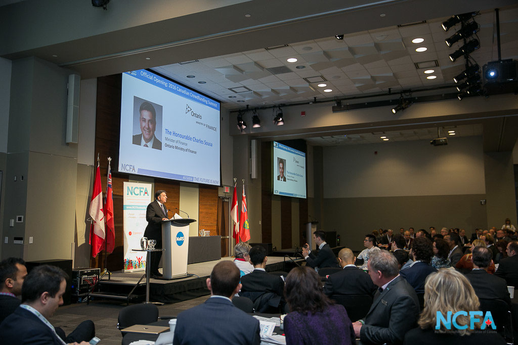 CF160302 84 1024x683 - Ontario Finance Minister, Honourable Charles Sousa, Endorses Canadian Crowdfunding Industry at 2016 Summit