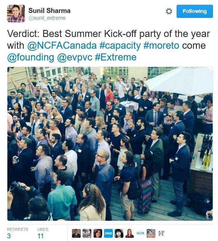 NCFA Fintech Crowdfunding Community 2016 - Toronto Fintech & Funding Event (Jun 22): NCFA-North of 41 Summer Kickoff Networking!