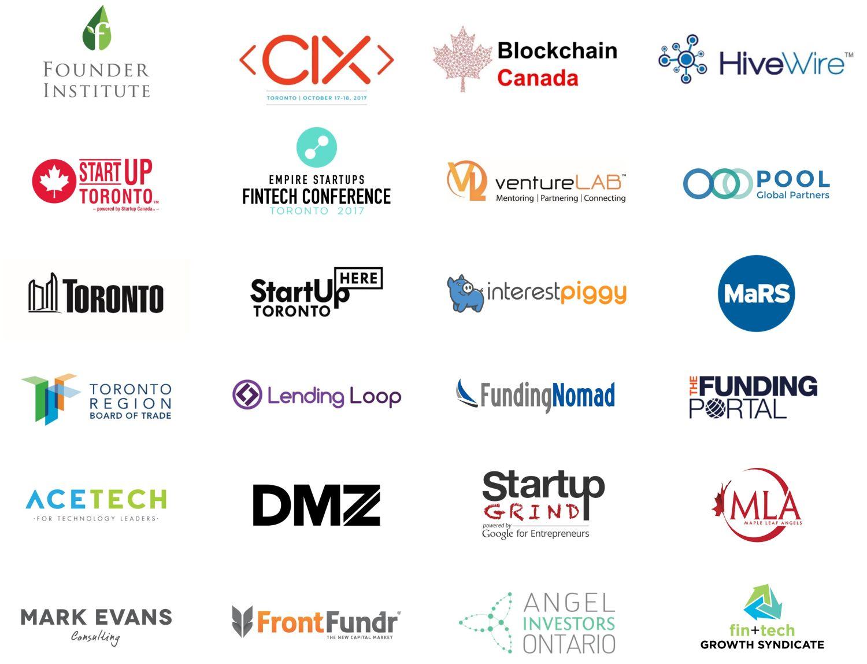 Summer Kickoff partner logos June 12 - Toronto Fintech & Funding Event (Jun 22): NCFA-North of 41 Summer Kickoff Networking!