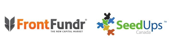 Logos FF and SeedUps - FrontFundr and SeedUps Canada announce partnership