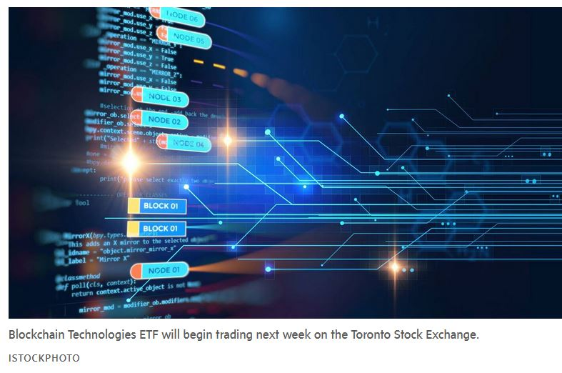 blockchain technologies etf - OSC approves Canada's first blockchain ETF