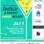 Toronto Fintech & Funding Networking Event (Jul 11, 2018): 4th Annual NCFA Summer Kickoff!