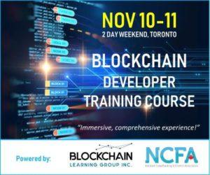Nov 10 11 Immersive 2 Day Blockchchain Developer Course Toronto 400 300x250 - Nov 10-11 Immersive 2 Day Blockchchain Developer Course Toronto_400