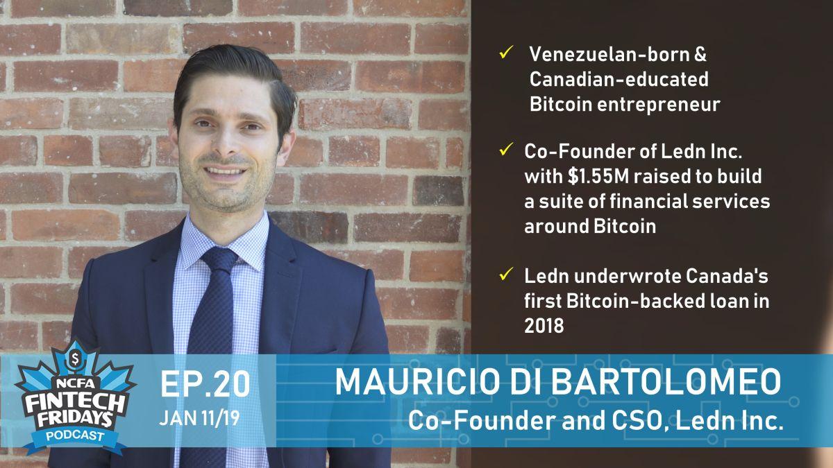 EP20 Mauricio Di Bartolomeo banner1200 1 - Current Innovation Ecosystem News:  FINTECH & FUNDING