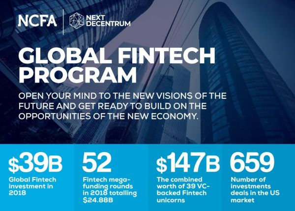 NCFA global fintech program - Global Financial Technology and Innovation Ecosystem for Investors, Companies and Platforms